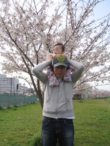 優ちゃん-お花見01