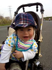 優ちゃん-帽子ベビーカー00