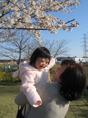 優ちゃん-お花見03