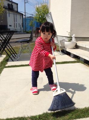 優ちゃん-お店掃除00
