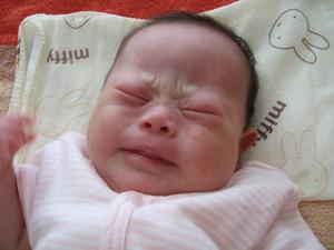 ダウン症優の赤ちゃん時代