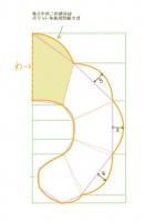 肩ウォーマー製図2