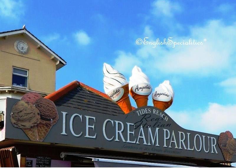 アイスクリームサイン