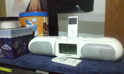 iPod用オーディオシステム
