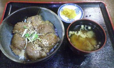 飛騨牛カルビ丼