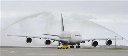SQ A380 @ NRT