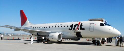 JL ERJ170 機体