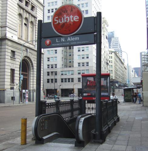 ブエノスアイレス地下鉄入口