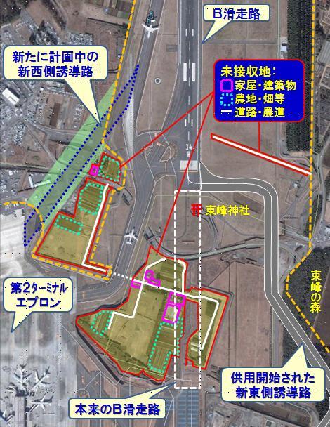 成田B滑走路の現状