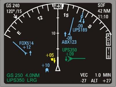 航空機から放送されるADS-Bを受信