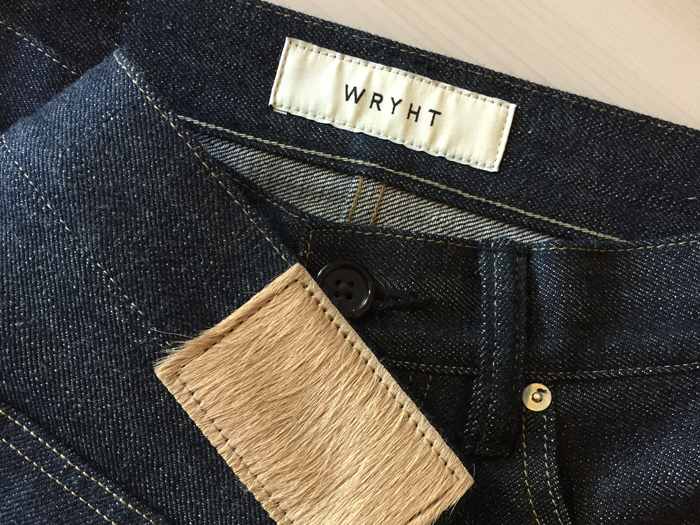 WRYHT/TAPERD FIVE POCKET JEANS