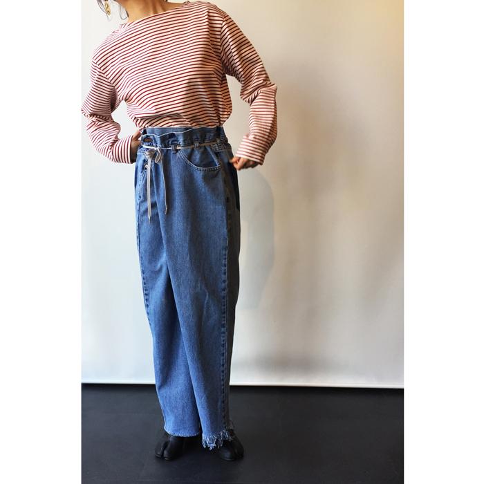 MAISON EUREKA/VINTAGE REWORK BIGGY PANTS