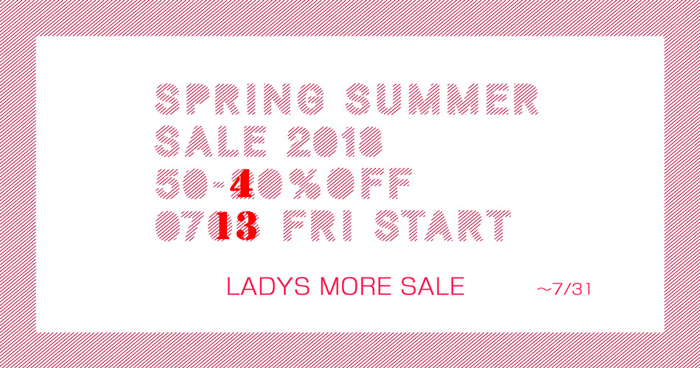 2018SS/MORE SALE