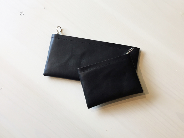 Aeta/COW KIP LEATHER WALLET