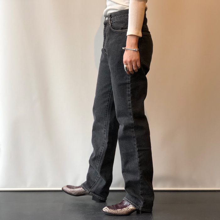 FUMIKA_UCHIDA/STRAIGHT DENIM WASHED