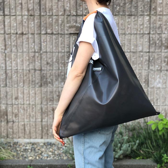 MM6 MAISON MARGIELA/JAPANESE TOTE BAG PVC MM6 LOGO