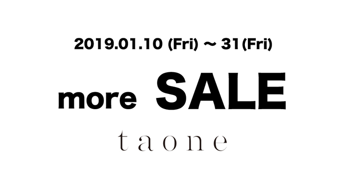 19AW/MORE SALE !!