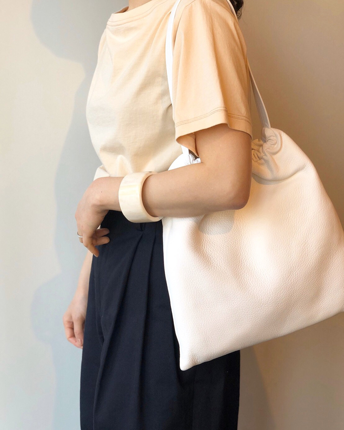 FUMIKA_UCHIDA/BOAT-NECK SHORT-SLEEVE TOP