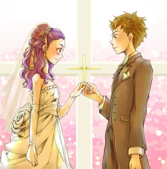 シロミル結婚式