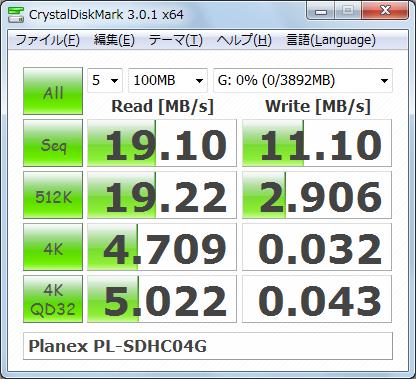 Graphics1347 SDメモリ Planex PL-SDHC04G