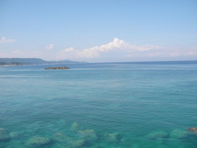風間浦の海