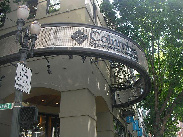 Columbia本店!