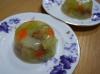 スモークチキンと野菜入りゼリー