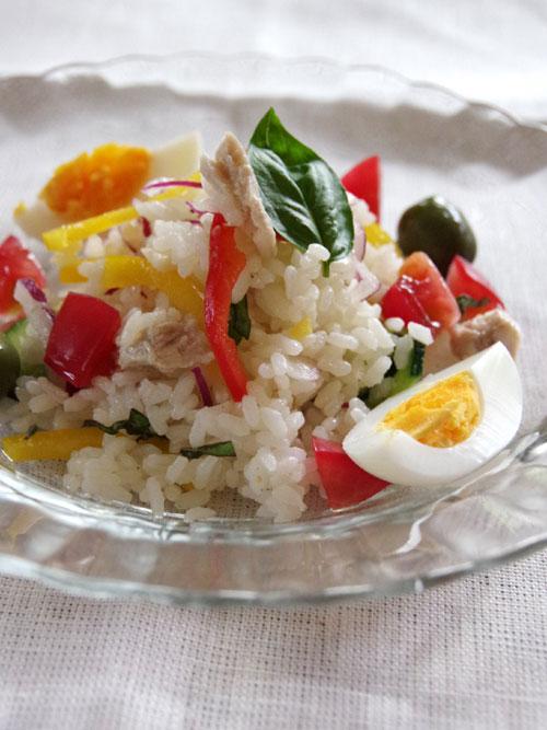 お米サラダ