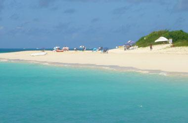 東洋一の白い砂浜
