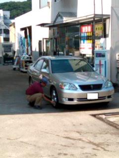ガソリンスタンド 洗車機
