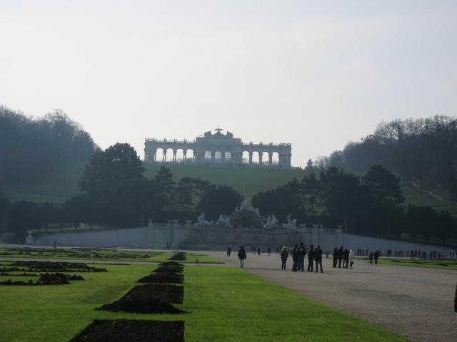 シェーンブルン宮殿のお庭