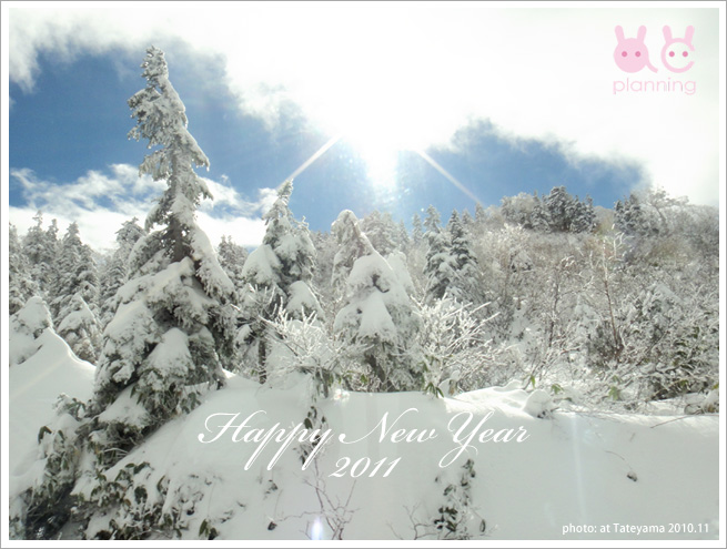 謹賀新年 2011