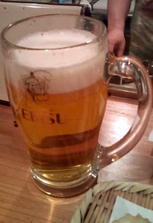 とりあえずのビール