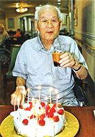 津田さん100歳誕生日