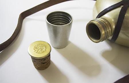 アルミの水筒のふた
