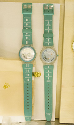 世田谷線の時計