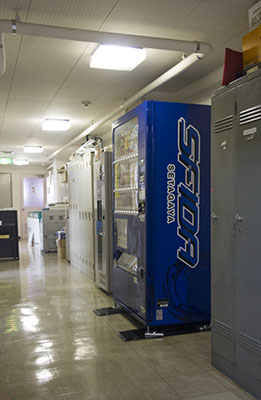 FM世田谷のスフィーダ自販機