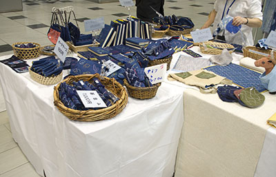 藍工房の作品群