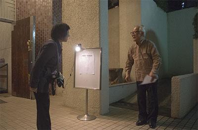 開演前の鈴木巌先生