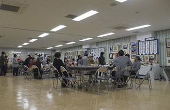 世田谷高齢者クラブ展示会