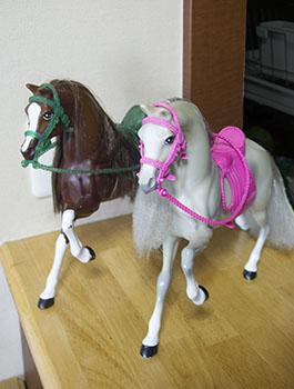 バービーの馬
