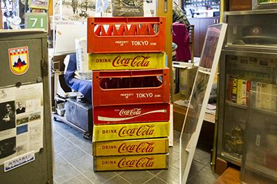 コカコーラの運搬ケース