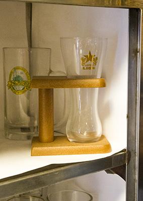 玉電と郷土の歴史館ビールジョッキ