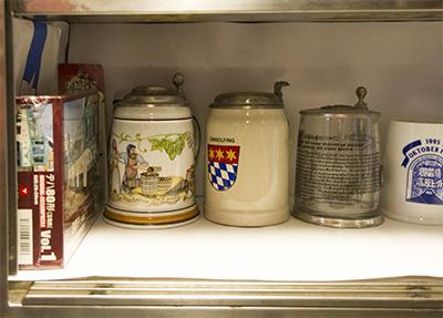玉電と郷土の歴史館ビールマグ
