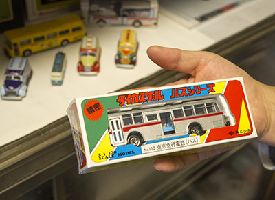 ミニチュア 東急バス