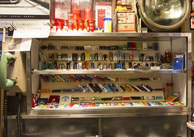 玉電と郷土の歴史館ライターコレクション