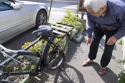 玉電と郷土の歴史館 昭和の自転車