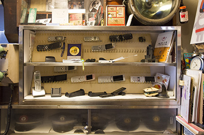 玉電と郷土の歴史館 携帯電話