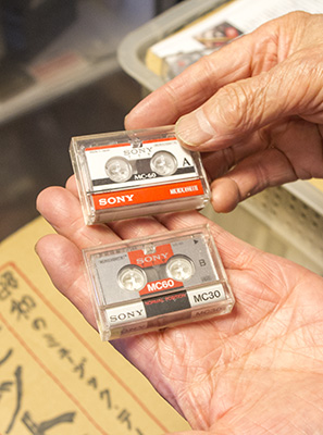 マイクロカセットテープ