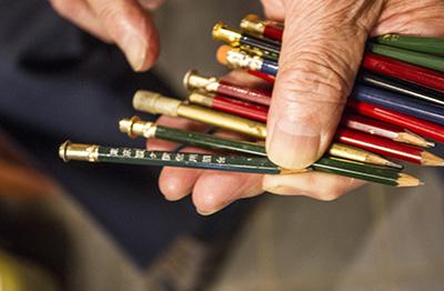 東京霞ヶ関信用組合の鉛筆